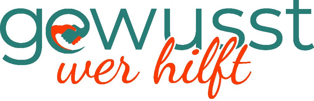Gewusst wer hilft - Logo